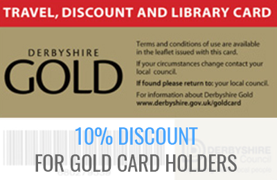 10% Discount For Gold Card Holders